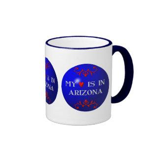 My heart is in Arizona Ringer Mug