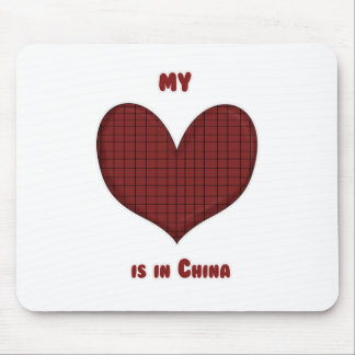 My Heart is in China Mouse Pad