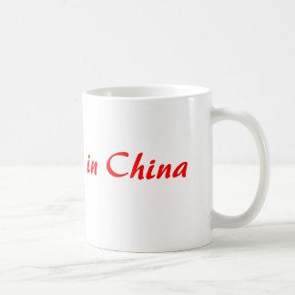 My heart is in China Classic White Coffee Mug
