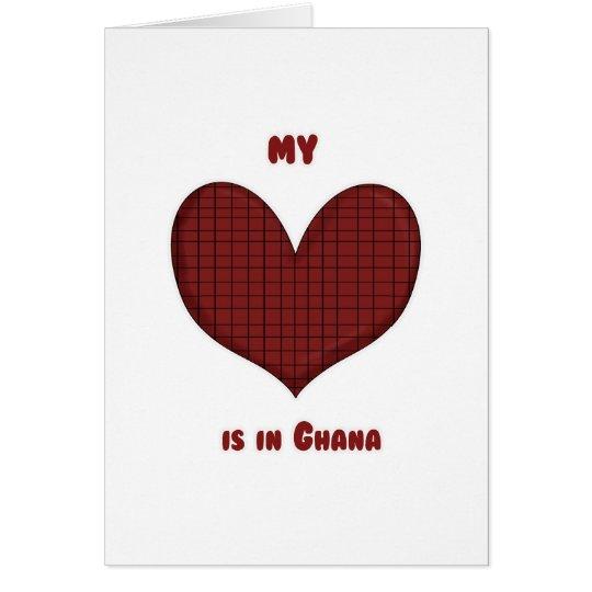 My Heart is in Ghana Card