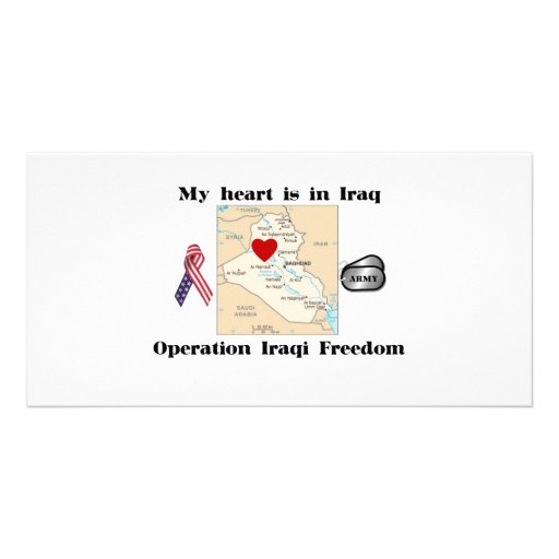 My Heart is in Iraq Photo Cards