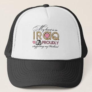 My Heart is in Iraq Trucker Hat
