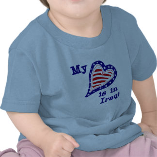 My Heart is in Iraq Tshirts and Gifts