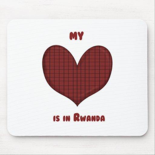 My Heart is in Rwanda Mouse Pad