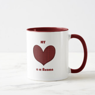 My Heart is in Rwanda Mug