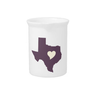 My heart is in Texas Beverage Pitchers