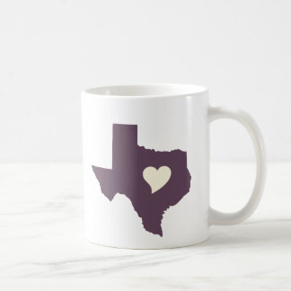 My heart is in Texas Mug