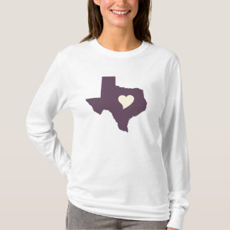 My heart is in Texas T-Shirt