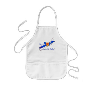 My Heart is in the valley Nova Scotia apron