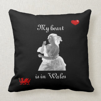 My Heart is in Wales Pillow
