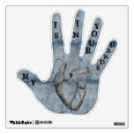 My Heart Is In Your Hands 360 Wall Decals