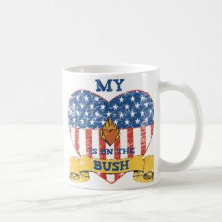 My Heart is on the Bush Coffee Mug