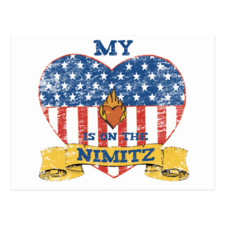 My Heart is on the Nimitz Post Card