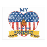 My Heart is on the Roosevelt Postcard