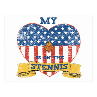 My Heart is on the Stennis Postcard