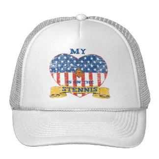My Heart is on the Stennis Trucker Hat