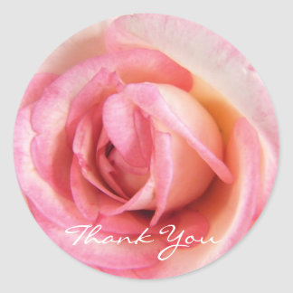 My Heart Is That Eternal Rose - Thank You Sticker