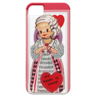 My Heart is Yours French Lady Valentine iPhone SE/5/5s Case
