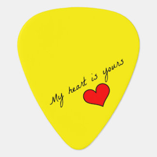 My Heart is Yours Guitar Pick