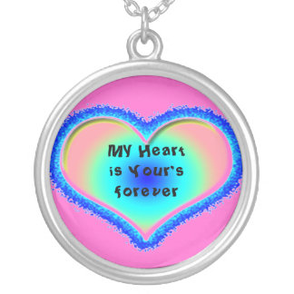 My Heart is yours Silver Plated Necklace