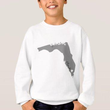 USA Themed My Heart Lies in Florida Sweatshirt