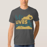 My Heart Lives In These Mountains T-shirts