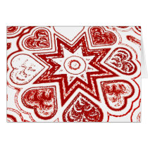 'My Heart' Note Card (White)