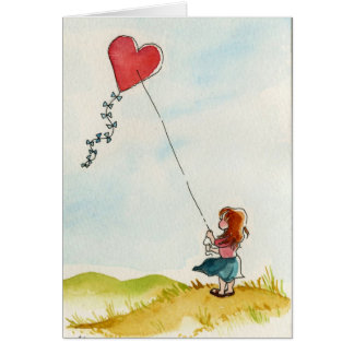 My Heart on a String Card