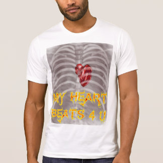My Heart only beats for you shirt