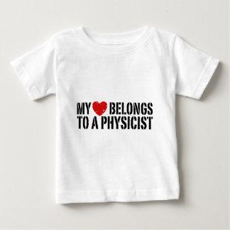 My Heart Physicist Baby T-Shirt