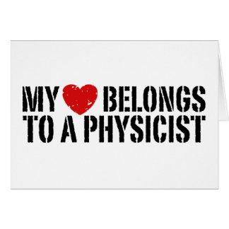My Heart Physicist Card