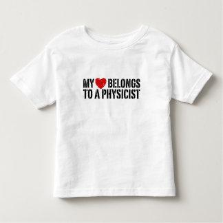 My Heart Physicist Toddler T-shirt