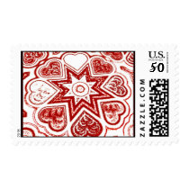 'My Heart' Postage (White)