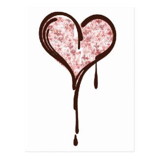 my heart postcard