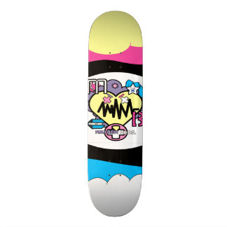 MY HEART PUMPS ACTION SKATEBOARD
