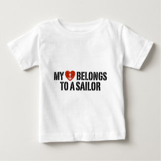 My Heart Sailor Baby T-Shirt