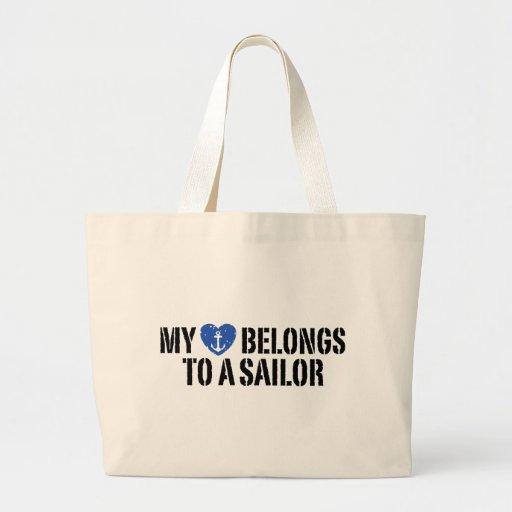 My Heart Sailor Bag