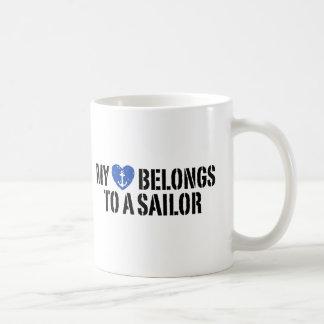 My Heart Sailor Coffee Mug
