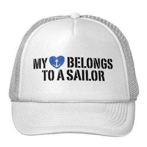 My Heart Sailor Hat