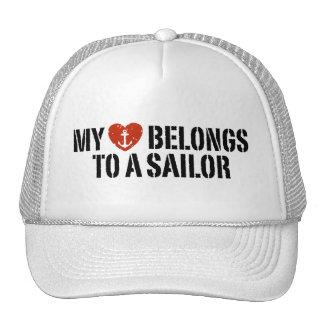 My Heart Sailor Trucker Hat