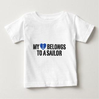 My Heart Sailor Infant T-shirt