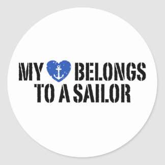 My Heart Sailor Stickers