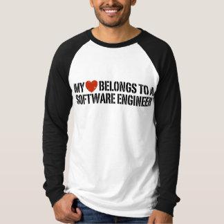 My Heart Software Engineer T-shirt