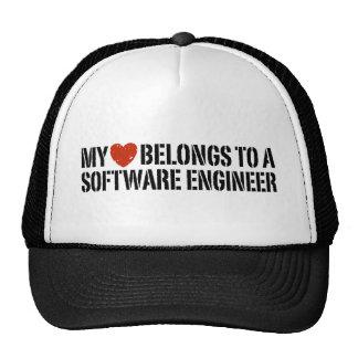 My Heart Software Engineer Trucker Hat