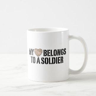 My Heart Soldier Coffee Mug