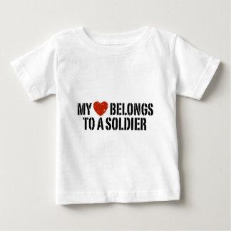 My Heart Soldier Tshirt