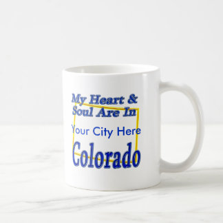 My Heart & Soul Are In Colorado Coffee Mug