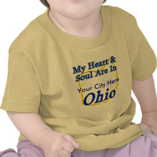 My Heart & Soul Are In Ohio Shirt