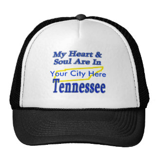 My Heart & Soul Are In Tennessee Hats
