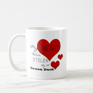 'My Heart Was Stolen By A Rouen Duck' Cartoon Mug